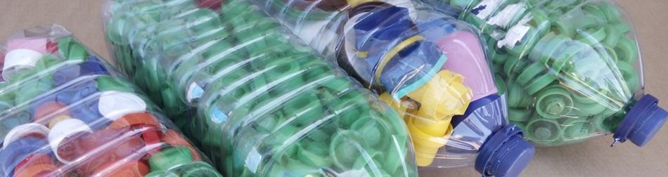 reciclagem plástico e metal