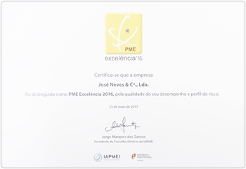 joseneves pme excelencia 2016
