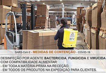 coronavirus covid19 medidas contencao desinfecao bfv jose neves embalagens